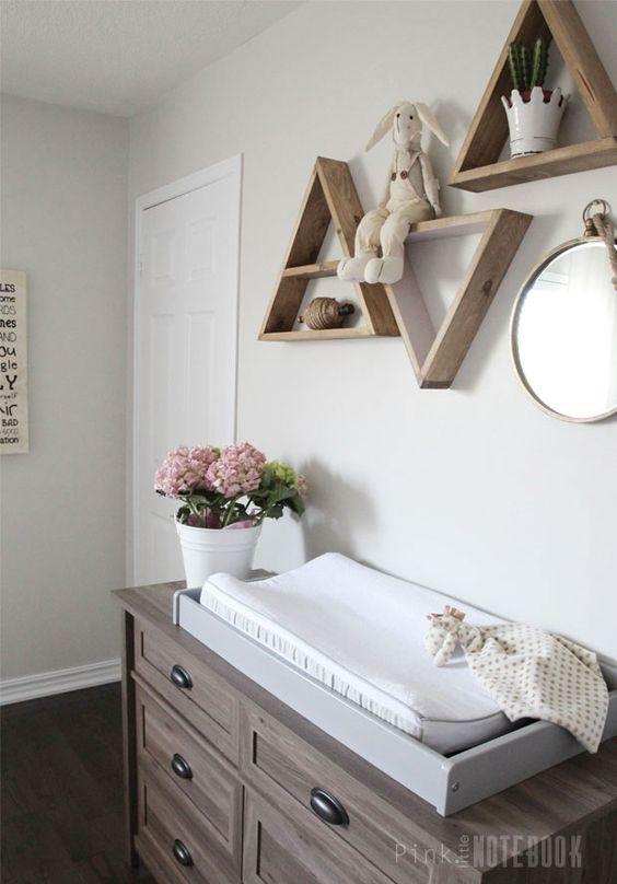 Ideas para decorar el cuarto de un bebe 13 decoracion for Como decorar el cuarto de mi bebe