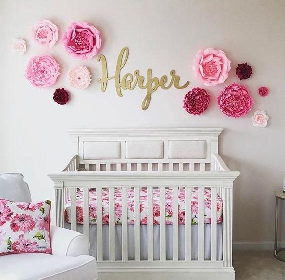 Ideas para decorar el cuarto de un beb decoracion de - Ideas para habitacion de bebe ...