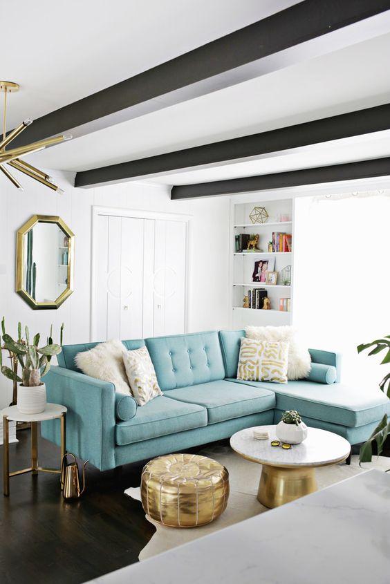 Ideas para decorar tu hogar con azul