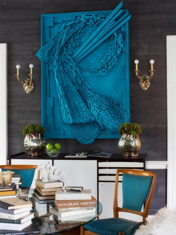 Ideas para decorar tu hogar con color azul decoracion de for Como decorar tu hogar