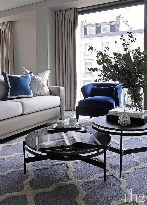 Ideas para decorar tu hogar con color azul decoracion de for Ideas para decorar tu hogar
