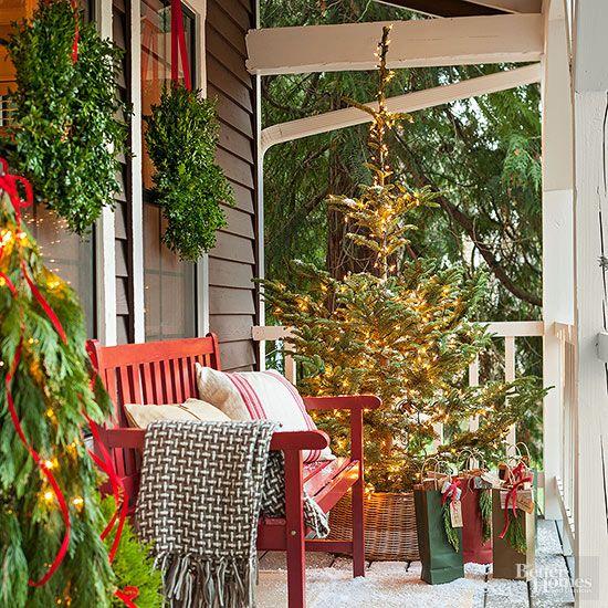 ideas-para-decorar-tu-porche-esta-navidad-2017 (4) | Decoracion de ...