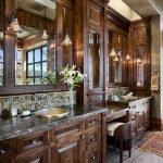 Ideas para decorar un baño en tonos café