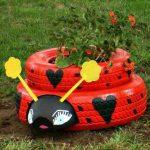 Ideas para Reciclar Llantas Viejas