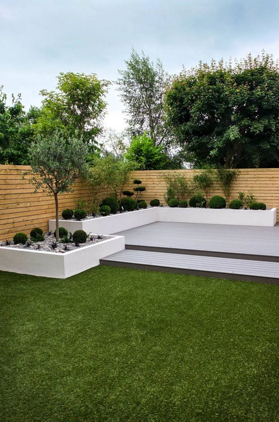 Jardines modernos minimalistas