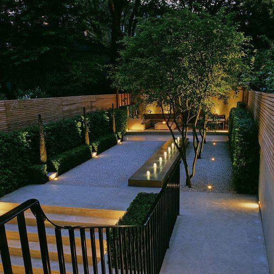 Dise os de patios y jardines decoraci n de exteriores - Jardines modernos minimalistas ...