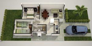 Planos de casas de infonavit
