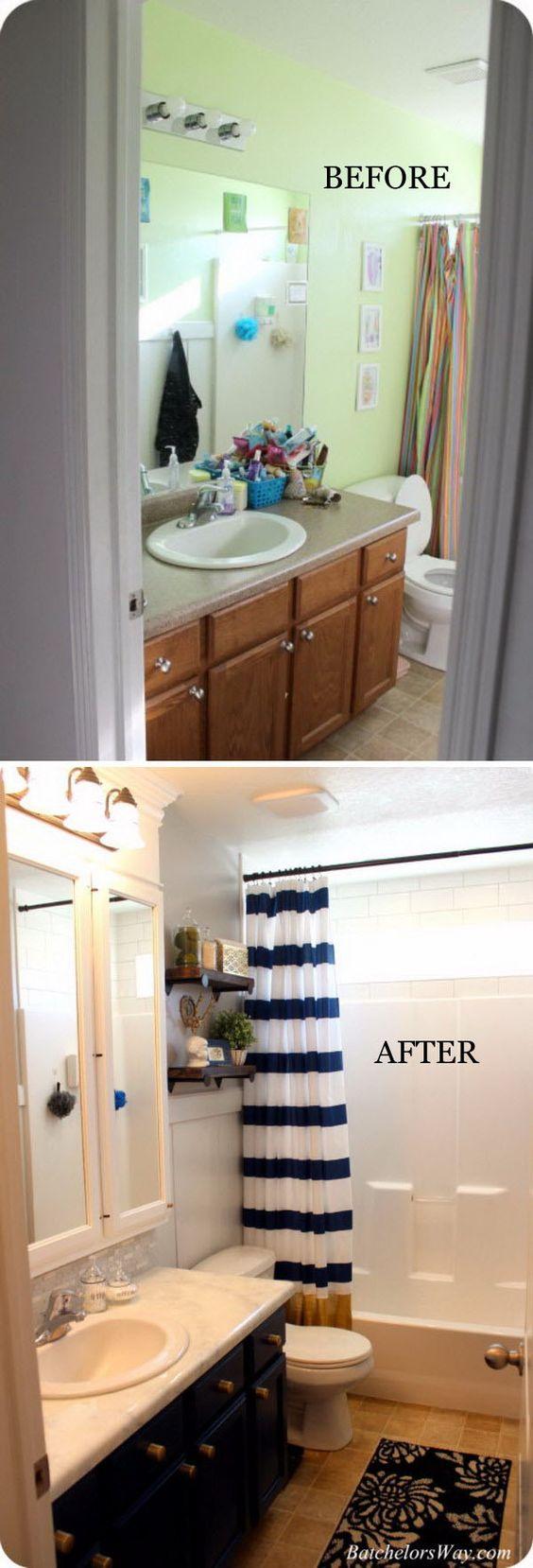 Remodelacion de baños pequeños