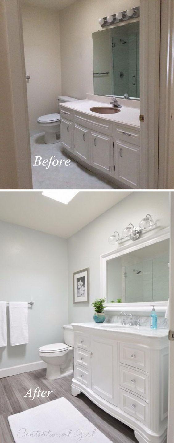 Remodelacion de banos antes y despues 23 decoracion de for Remodelacion de casas interiores