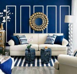 Salas color azul