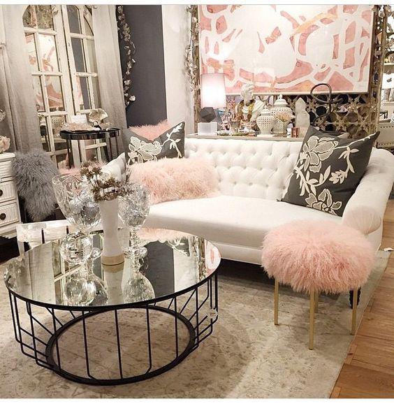 Sillas acentuadoras para salas glamourosas