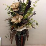 Tendencia en floreros gigantes para decorar interiores