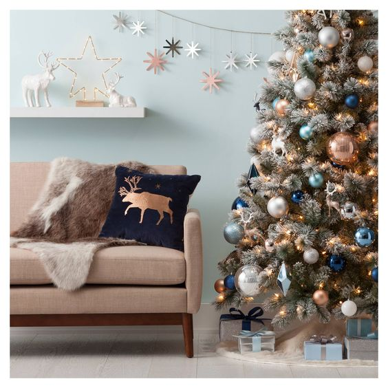 Tendencias navidad 2018 7 decoracion de interiores for Decoracion navidad 2018 tendencias