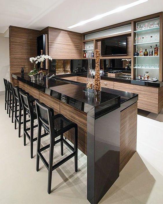 Tienes Bar En Casa Mira Como Decorarlo 13 Curso De Decoracion De - Bar-en-casa-decoracion