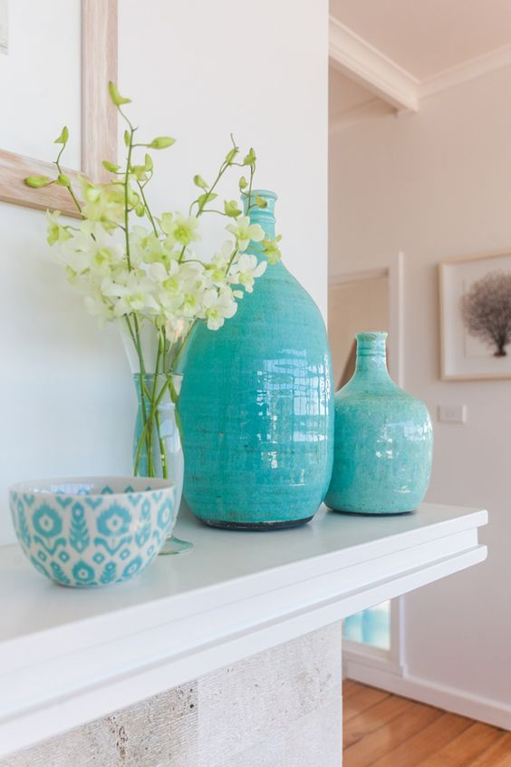 Tonalidades de azul para decoración de interiores