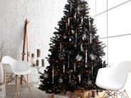 ¿Y si la Navidad no Es Roja y Verde?… Decora tu hogar en tonos Blancos y Negros para esta Navidad