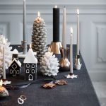¿Y si la Navidad no Es Roja y Verde?... Decora tu hogar en tonos Blancos y Negros para esta Navidad