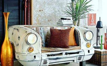 18 Maneras de Reutilizar las partes de tu Carro Viejo para Decorar tu Hogar