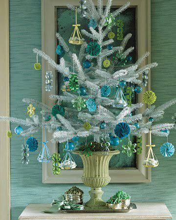 Agrega Azul y Verde a tu Decoración Navideña: Es un Dúo Perfecto