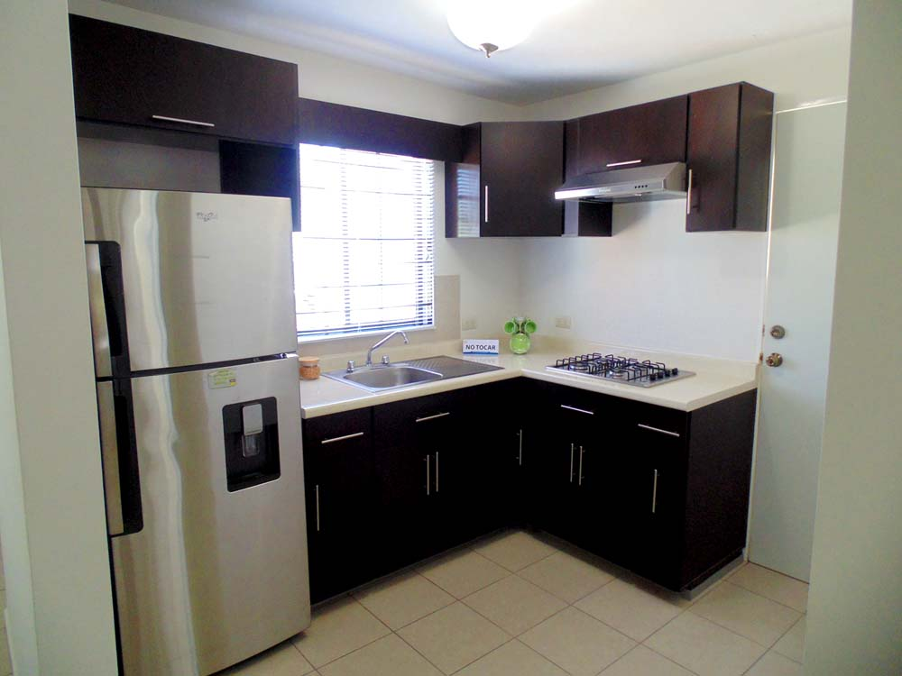 Cocina de casa de 52 metros cuadrados