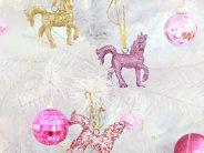 Decoracion de navidad con unicornios – Decoracion navideña