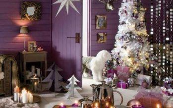 Decora la Navidad con Color Morado