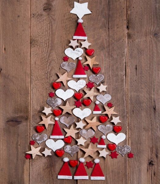 Decora la Navidad con Fieltro
