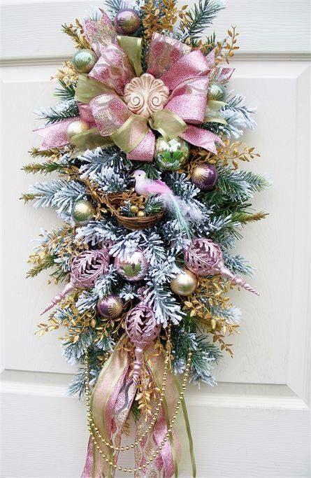 ¡¡Decora tu Hogar en Navidad con Color Rosa: Feminidad y Ternura!!