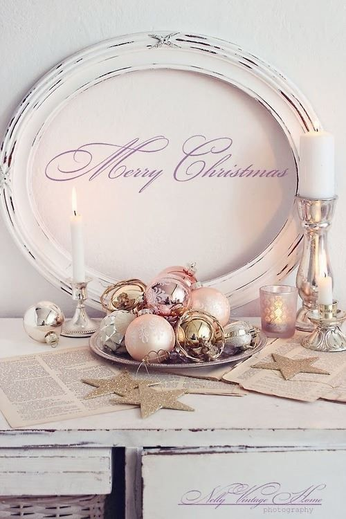Decoracion de navidad con color rosa feminidad y ternura for Decora tu hogar