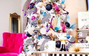 Decoracion de Navidad de Colores