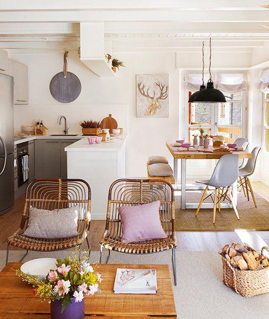 Ideas para incluir sala cocina y comedor juntos for Cocina sala comedor juntos