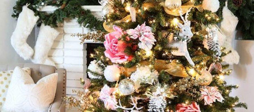 decoraci n de navidad con flores una nueva alternativa