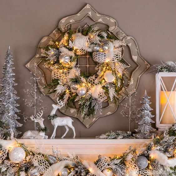 Navidad con venados una tendencia en decoraci n para este for Decoracion navidad 2017 tendencias