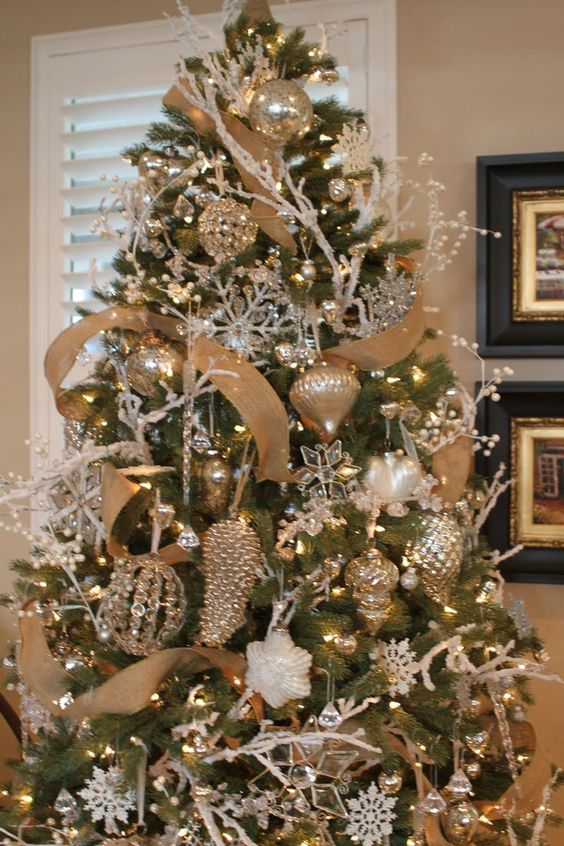 Detalles navideños en dorado