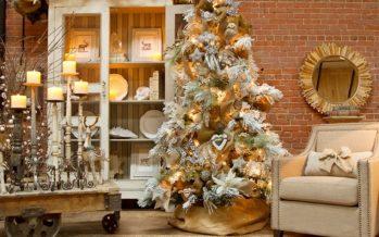 Decoracion de Navidad en Color Dorado: Una Propuesta que es Tendencia
