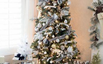 Decoracion de Navidad en Negro y Dorado: Irradia Elegancia y Buen Gusto