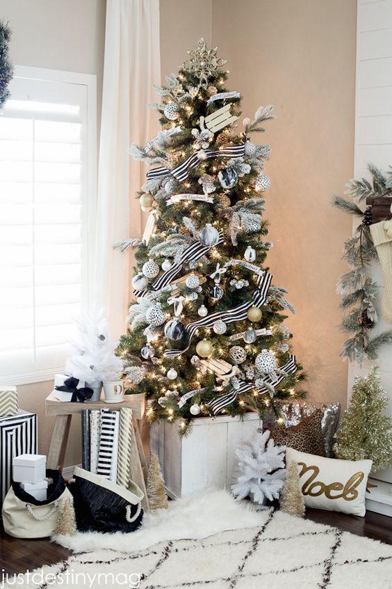 ce88c00eb55e1 Decora la Navidad en Negro y Dorado  Irradia Elegancia y Buen Gusto