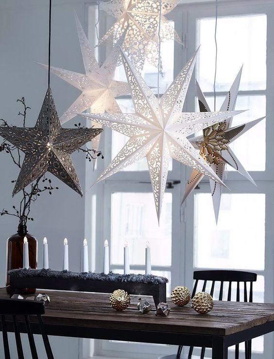 Decoracion de navidad con estrellas significado for Decoracion con estrellas