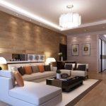 Decoración para salas amplias