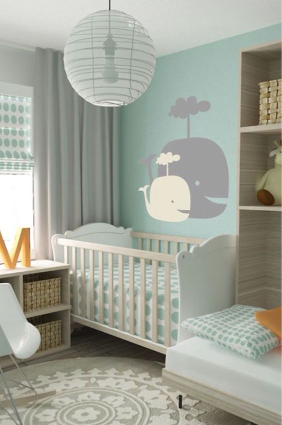 Habitaciones modernas para bebés