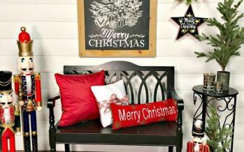 Ideas para decorar tu entrada esta navidad 2017 – 2018