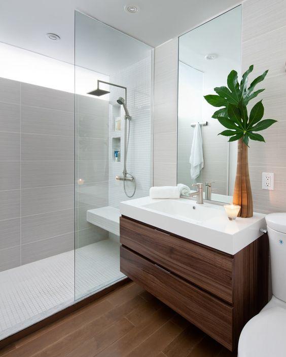 Únete a la DuchaManía... Agregando Plantas a la decoración de tu Baño