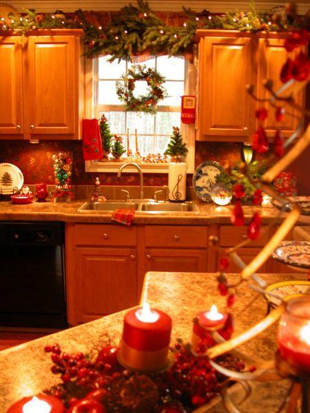 Adornos Navideños para la Cocina