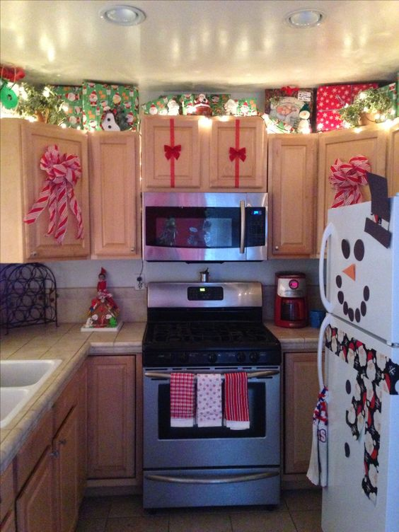Adornos navide os para la cocina for Adornos para cocina