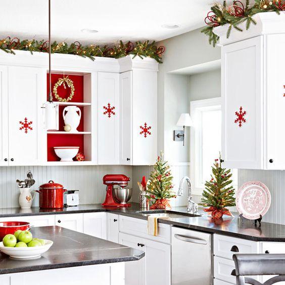 Adornos navide os para la cocina - Ideas para decorar tu cocina ...
