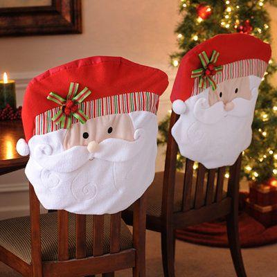 Como Decorar Sillas para Navidad (15)