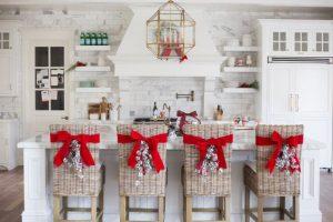 Como Decorar Sillas para Navidad (3)