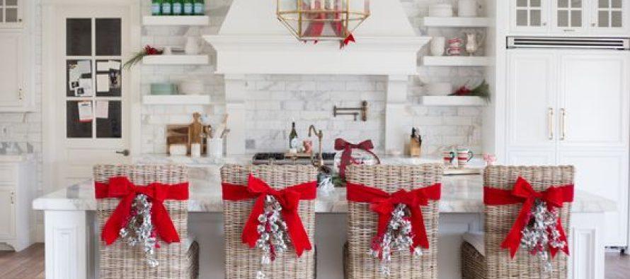 Cómo Decorar Sillas para Navidad
