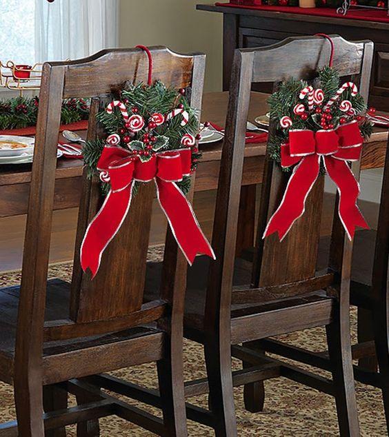 Como Decorar Sillas para Navidad (8)