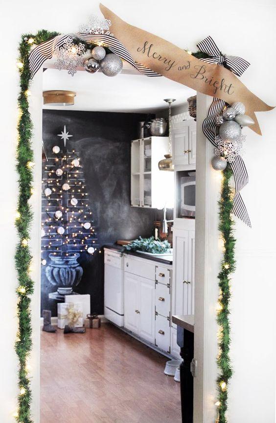 C mo decorar una casa de infonavit en navidad - Como amueblar una casa ...